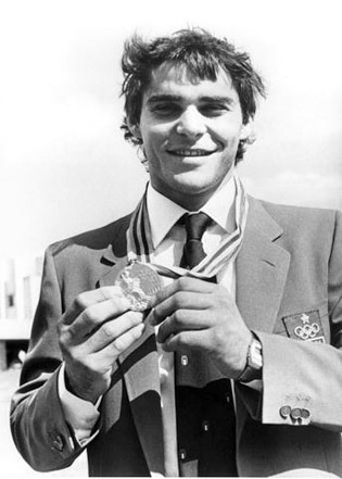 Эцио Гамба-победа на Олимпиаде в Москве